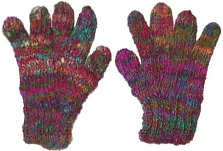 Recycled Silk Gloves