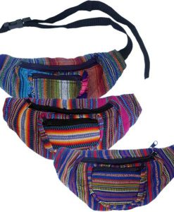 3 Compartment Hip Pack from Guatemala