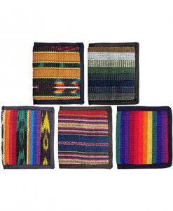 Ikat Cotton Wallet