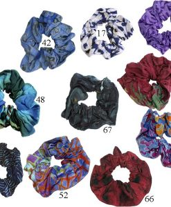 Batik Rayon Hair Scrunchies