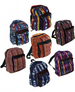 Guatemalan Ikat Weave Backpack