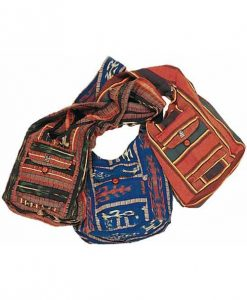 Ikat Weave Shoulder Sling Bag