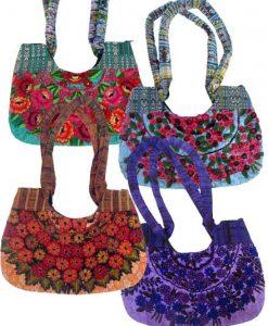 Johana Woven Double-Handled Shoulder Bag