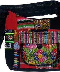 Canoa Patchwork Shoulder Bag