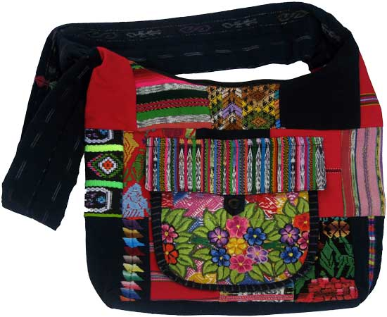 Canoa Patchwork Shoulder Bag
