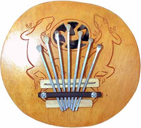 Kalimba Thumb Piano - Round