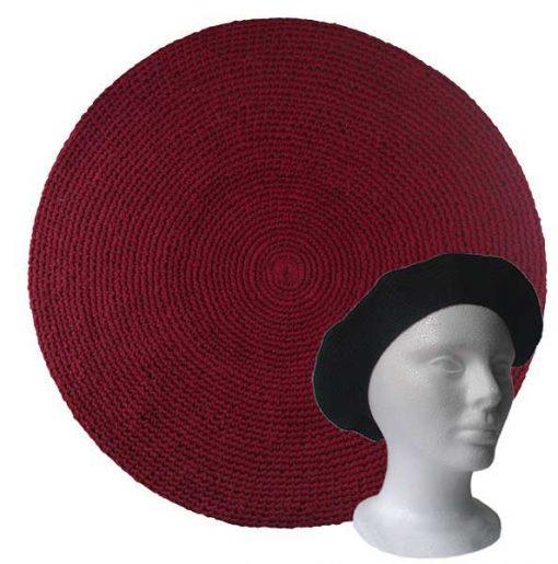 Cotton Tam - Burgundy Red
