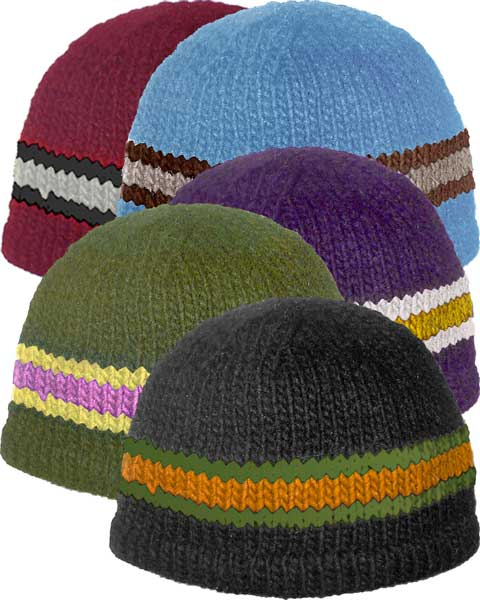 Round Knit Wool Hat