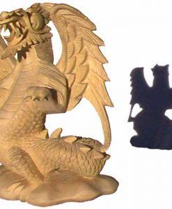 Dragon Wood Carving