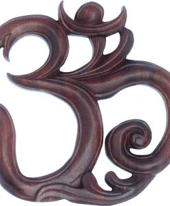 Large OM Wood Carving