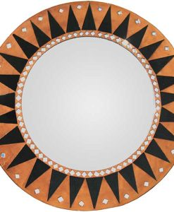 Large Abstract Sun Accent Mirror
