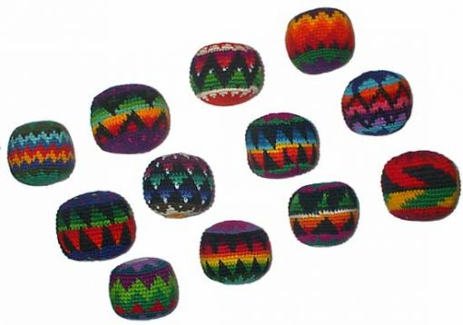 Set of 12 Hacky Sacks