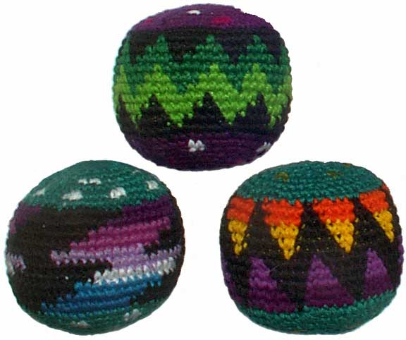 Set of 3 Hacky Sacks