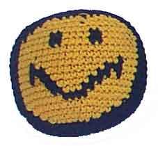 Smiley Face Hacky Sack