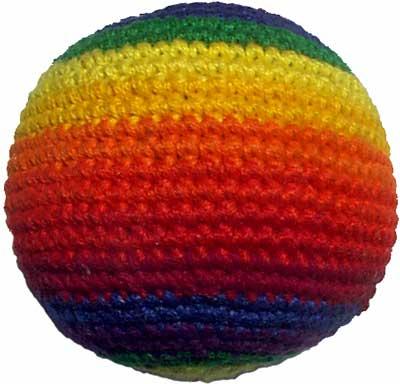 Rainbow Hacky Sack