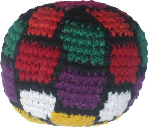 Colorful Soccer Ball Hacky Sack