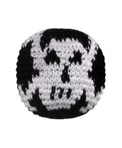 Skull and Cross Bones Hacky Sack