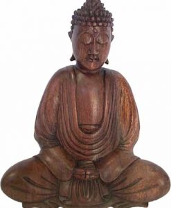 Wood Buddha Carving