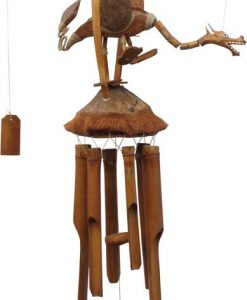 Dragon Wind Chime with Segmented Neck