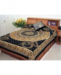 Earthtone OM Indian Bedspread