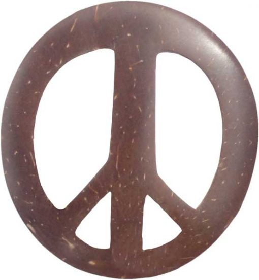 Coconut Peace Sign Sarong Tie