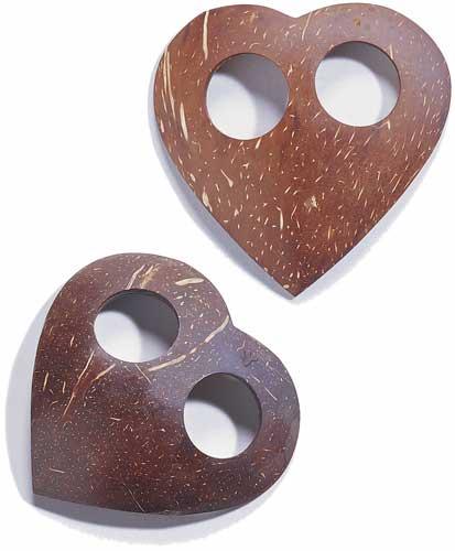 Coconut Heart Sarong Tie