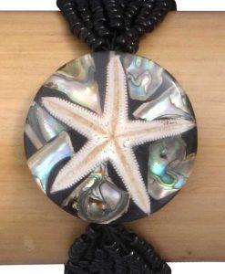 Sea Star Elastic Bead Bracelet