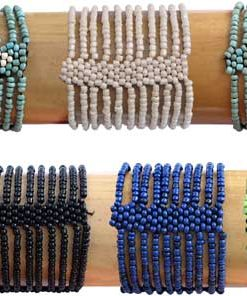 Glass Bead Butterfly Bracelet in Six Colors