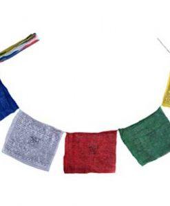 Tibetan Prayer flag with 7 inch flags.