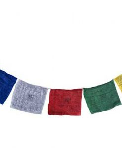 Tibetan Prayer flag with 12 inch flags