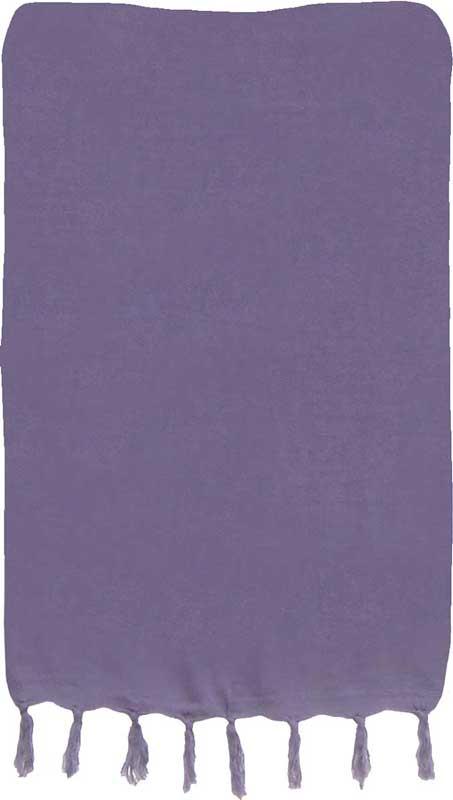 Solid Smoky Purple Sarong