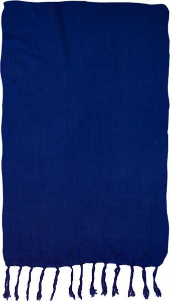Solid Navy Blue Sarong