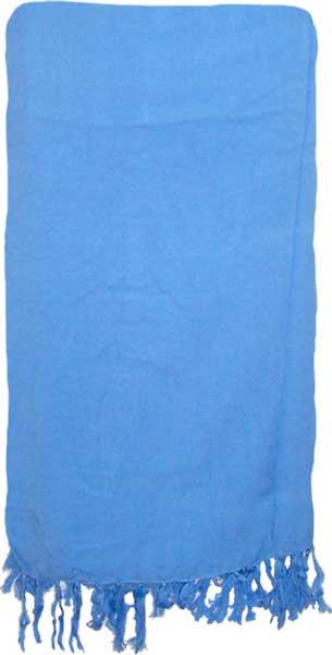 Solid Tropical Blue Sarong