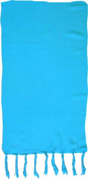 Solid Deep Sea Turquoise Sarong