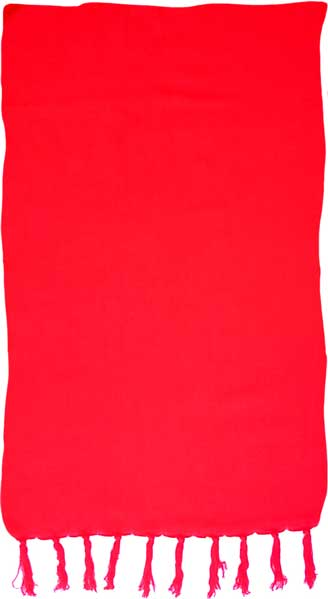 Solid Red Sarong