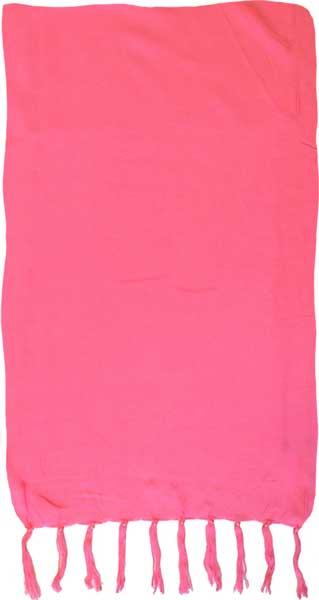 Solid Candy Pink Sarong