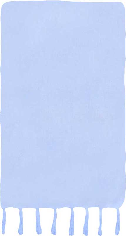 Solid Pale Blue Sarong
