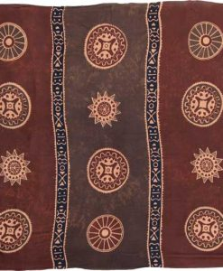 "Brown Asian Coin ""Baliku"" Sarong"