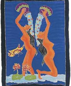 Two Women Bathing Sarong