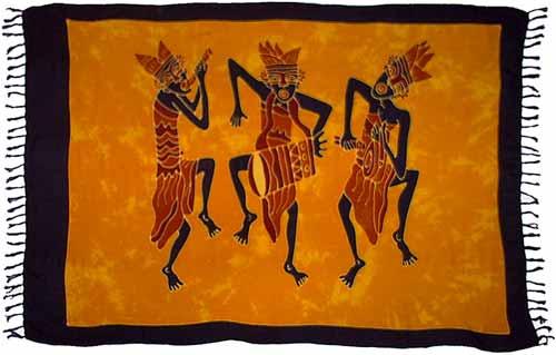 Tribal Musicians Sarong