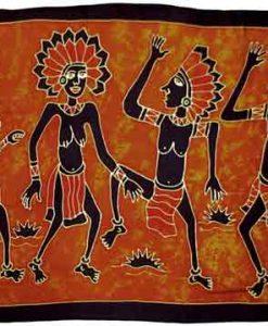 Tribal Dancers Sarong