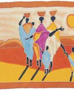 African Family Sarong