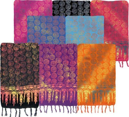 Spirals Batik Sarong
