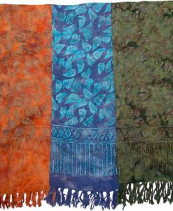 Batik Leaf Sarong
