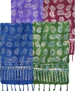 Sarong Fern Leaf Batik