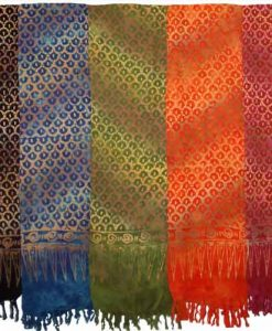 Scalloped Pattern Sarong