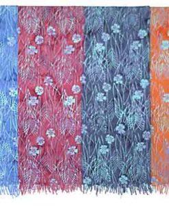Flower & Stems Batik Sarong