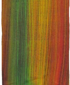 Green, Yellow & Red Stripe Sarong