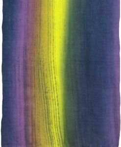 Purple, Navy & Yellow Stripe Sarong