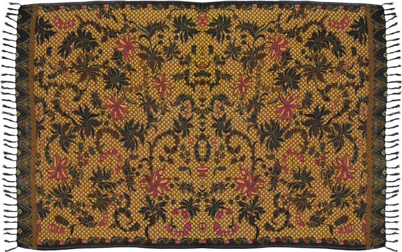 Traditional Batik Sarong Design C Turtle Island Imports